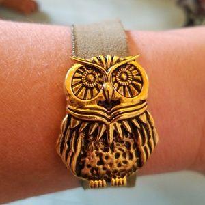 Owl Ponytail Holder - Bracelet -Ponytail Scrunchie